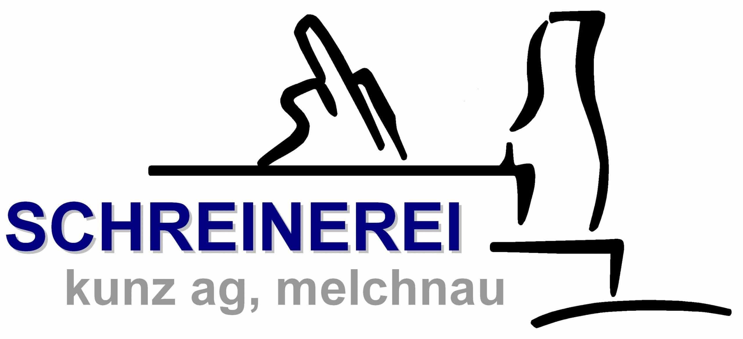 Logo Schreinerei Kunz Weiss
